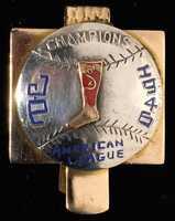 Johnny Pesky 1946 Boston Red Sox AL Champions money clip