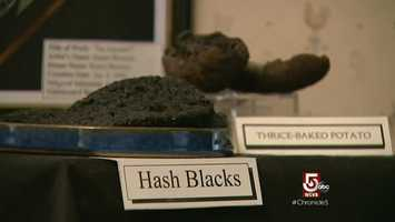 Also featured, the Hash Blacks and the Thrice Baked Potato.