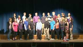 """At the High School, a rite of passage, a spirited performance of """"The Lake Song."""""""