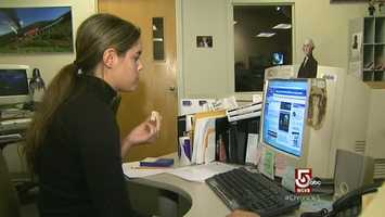 The work desk, 20,961 germs per square inch.