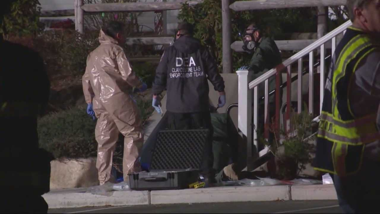 2 arrested in Hudson meth lab bust