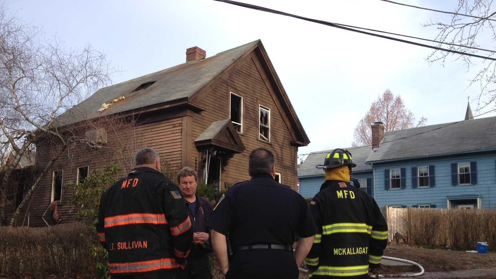 Methuen house fire 4.14.14