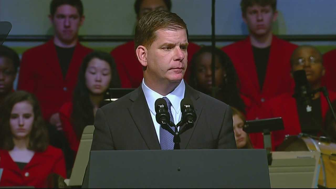 Boston mayor Marty Walsh remembers time with Martin Richard