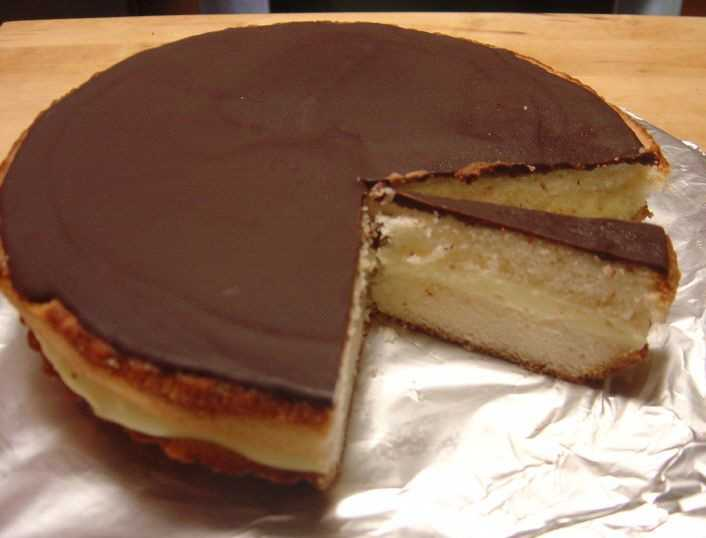 The official state dessert of Massachusetts is the Boston cream pie.