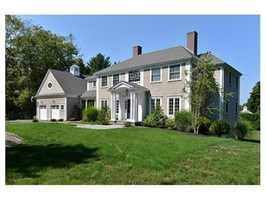 3 Seal Cove Road is on the market in Hingham for $2.99 million.