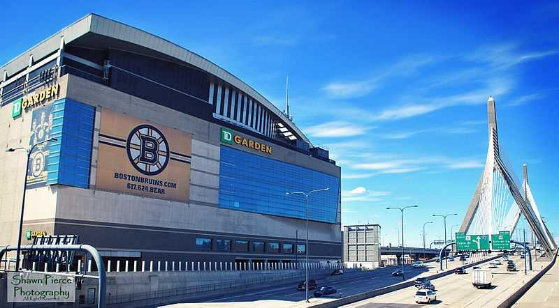 The Fleet Center (now known as TD Garden) was built a mere 9 inches from the Boston Garden, so the classic structure had to be demolished brick-by-brick.