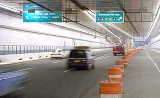 At 90 feet below the surface, the Ted Williams Tunnel is the deepest tunnel in North America.