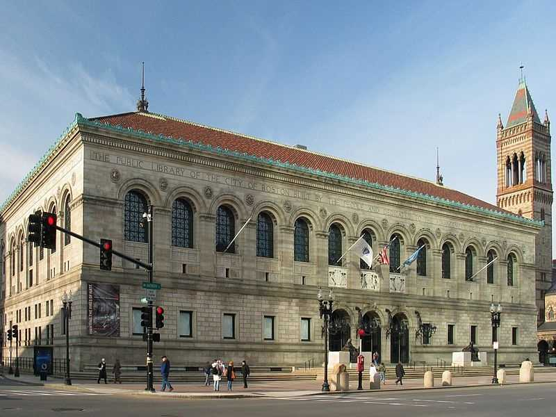 While the Library of Congress contains the most volumes in the country (29,550,000), Harvard University is second with more than 15,000,000 and the Boston Public Library is third with more than 14,000,000.