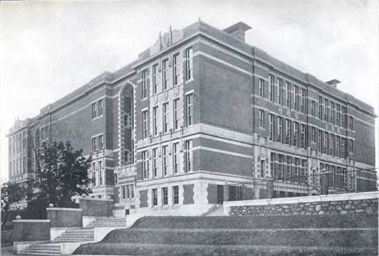 The Mather School was founded in Dorchester in 1639. It is the first public elementary school in America.