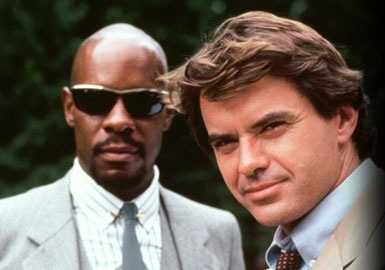 """Spenser: For Hire"" aired from 1985-1988. A mystery television series based on Robert B. Parker's ""Spenser"" novels. Spenser, played by Robert Uhrich (right), was a private investigator in Boston."