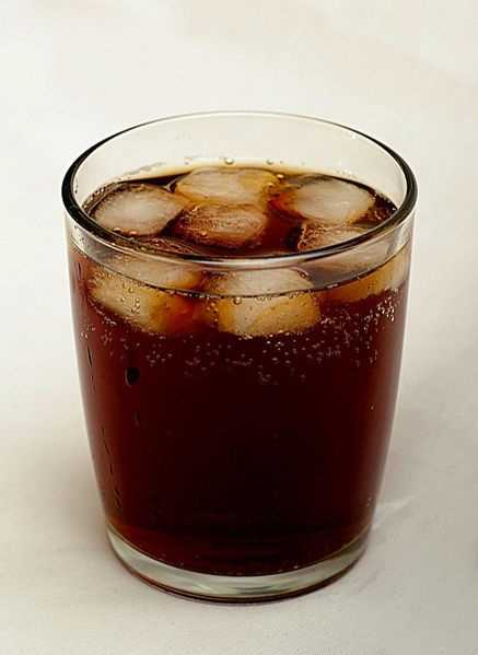 The average American drinks 44.7 gallons of carbonated soft drinks per year, according to the Beverage Marketing Corp.