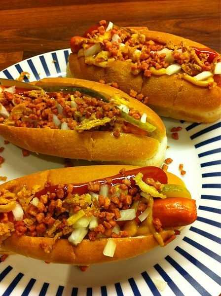 Every year, Americans eat an average of 60 hot dogs each, according to the National Hot Dog and Sausage Council.