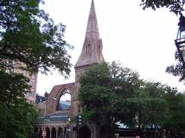 The oldest church in Boston is First Church in Boston, founded in 1630.