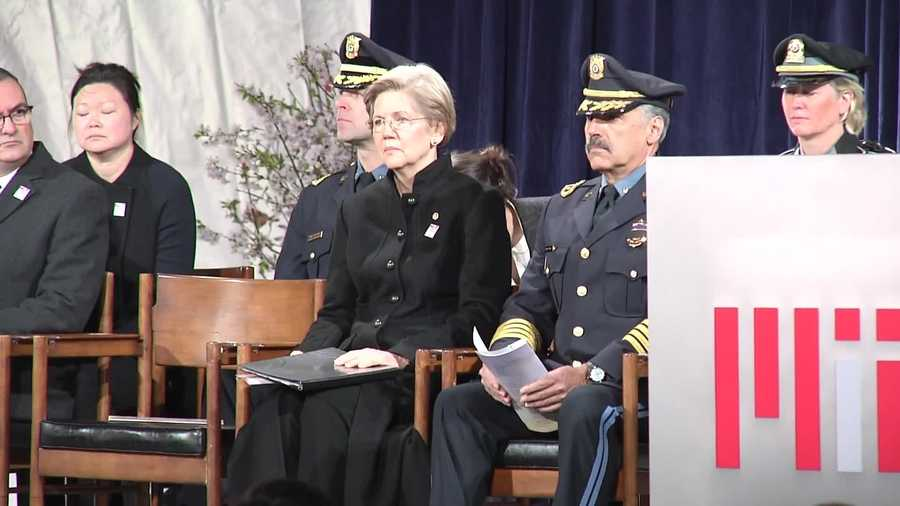 U.S. Senator Elizabeth Warren and U.S. Senator Edward Markey both attended the event.
