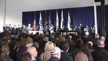 A remembrance ceremony was held Friday on the MIT campus.