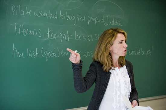 Jennifer Knust teaches theology at Boston University