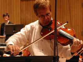 Mark Ludwig plays with the Boston Symphony Orchestra