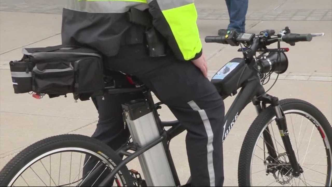 Police to show off new mode of transportation at marathon