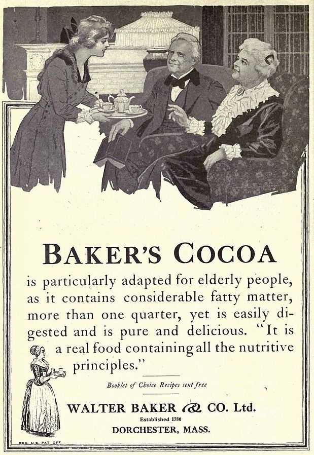 In 1764, John Hannon and physician Dr. James Baker started importing beans and producing chocolate in the Lower Mills section of Dorchester, Mass.