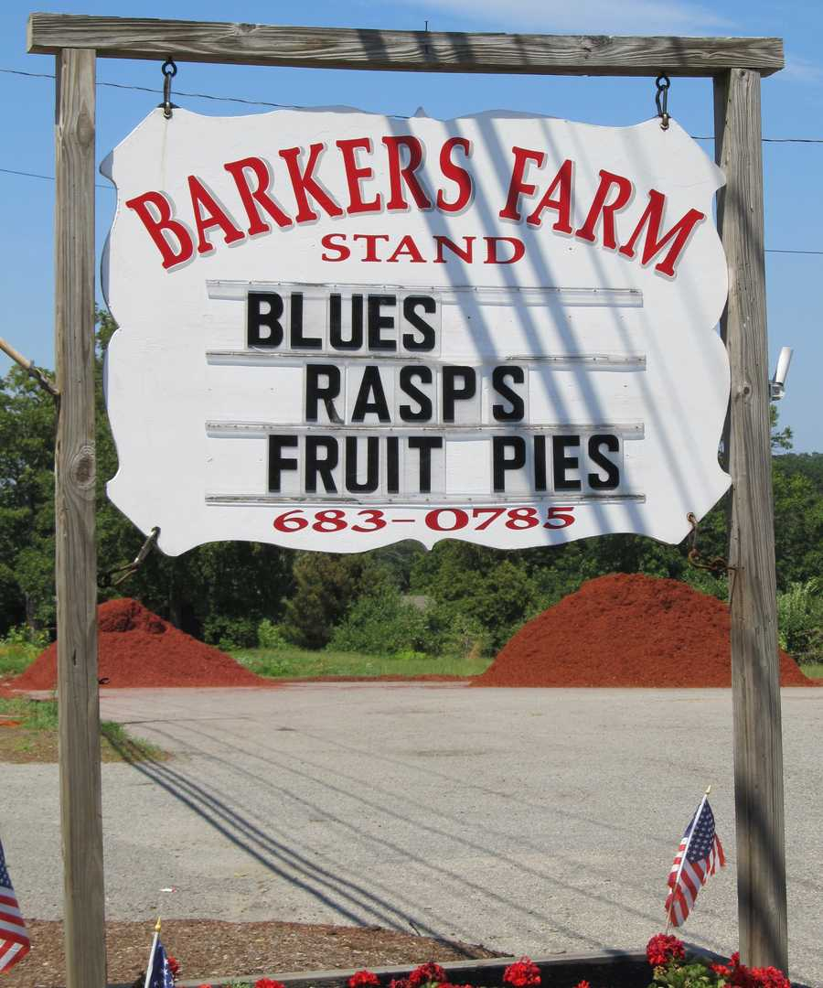 Barker's Farm in North Andover, Mass. has been operational since 1642, making it one of the oldest companies in the United States.