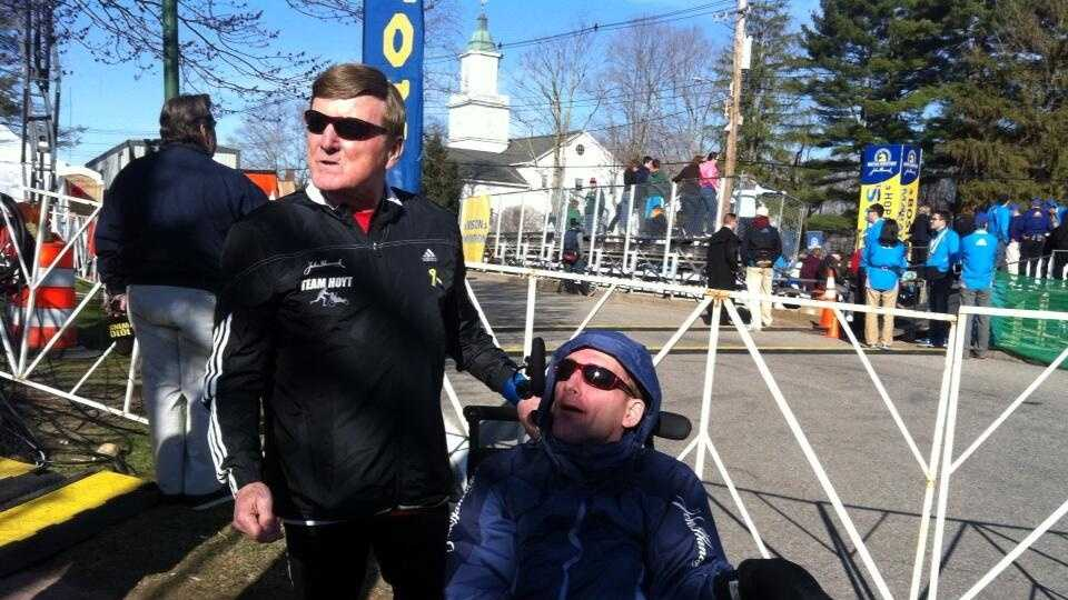 Father, Dick Hoyt, and his son, Rick Hoyt, will be participating in their final Boston Marathon. This will be their 30th race.
