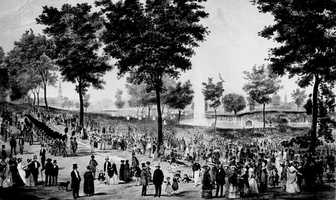 1634: Boston Common became the first public park in America.