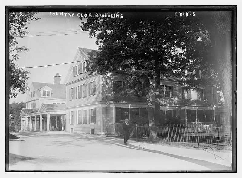"""1881: The Country Club in Brookline became the first country club in America dedicated to """"outdoor pursuits."""""""