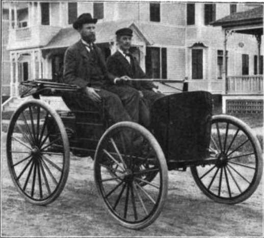 1893: The first successful gasoline-powered automobile was perfected by Charles and Frank Duryea in Springfield.