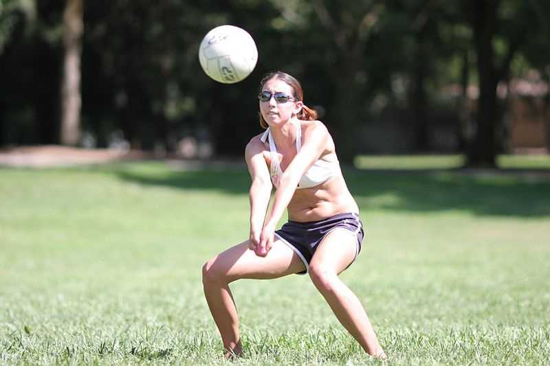 """1895: The first volleyball game, originally called """"mintonette,"""" was played in Holyoke. The game was invented by William Morgan."""