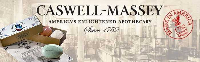 Caswell-Massey started as an apothecary shop in 1752 in Newport, Rhode Island. It makes soap and toiletries.