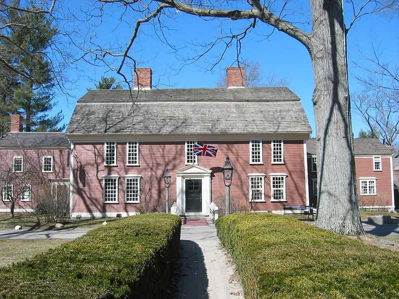 The Wayside Inn has been in operation in Sudbury since it opened as a tavern in 1716.