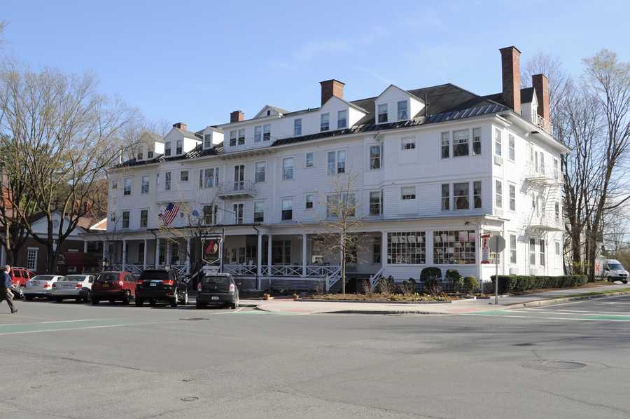 The Red Lion Inn in Stockbridge was established in 1773.