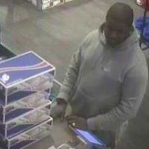 Theft - Case No. 140207February 18, 2014Dedham : New BalanceCase Details:The suspect shown has used counterfeit credit cards at the New Balance Store in Dedham.If you have any information about the identity of this person or where they are, please contact:Dedham P.D: (781) 326-1212Investigator: Det. Rich PorroCase Submission No.: 140207