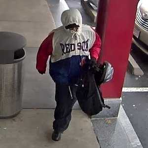 """Robbery - Case No. 140221April 15, 2014Allston : Mt. Washington BankCase Details:On Tuesday April 15 , 2014 @ approximately 3:49pm, an unidentified subject (UNSUB), entered the Mt Washington Bank located at 181 Brighton Ave, Allston and approached the teller stations. The UNUSB demanded money while displaying a black handgun. He received an undisclosed amount of U.S. currency and then fled in an unknown direction. UNSUB was described as a white male, 5' 5"""", thin build, and wearing eyeglasses, a white and blue Boston Red Sox hooded jacket with red sleeves, dark pants, dark shoes, and carrying a black backpack with a gray bike helmet attached.If you have any information about the identity of this person or where they are, please contact:FBI Bank Robbery Task Force: (617) 275-3935Investigator: SA Jeff RolandsCase Submission No.: 140221"""