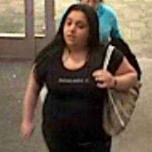 Theft - Case No. 140220April 11, 2014Lowell : TargetCase Details:Pictured females participated in the theft & fraudulent use of a credit card. Fled the scene in a white 4 door SUV type vehicle.If you have any information about the identity of this person or where they are, please contact:Lowell Police Department: (978) 674-1865Investigator: Det. Corey EricksonCase Submission No.: 140220