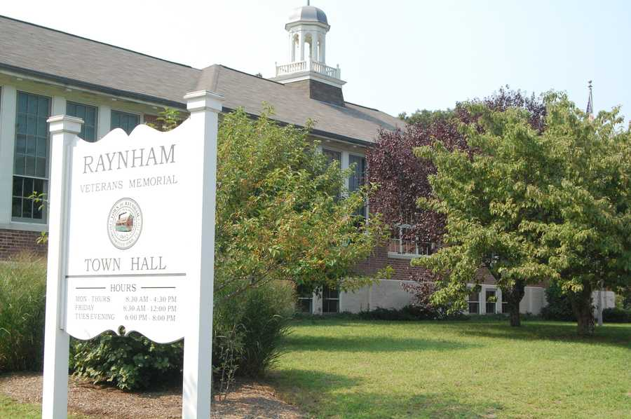 1. Raynham. Raynham tops the list with 29 home sales for the first quarter of 2014, an increase of 93% compared to Q1 2013 when there were 15 sales. The median price for a home in Raynham is $280,000, an increase of 10% compared to Q1 2013, yet well below the average home price in Massachusetts.