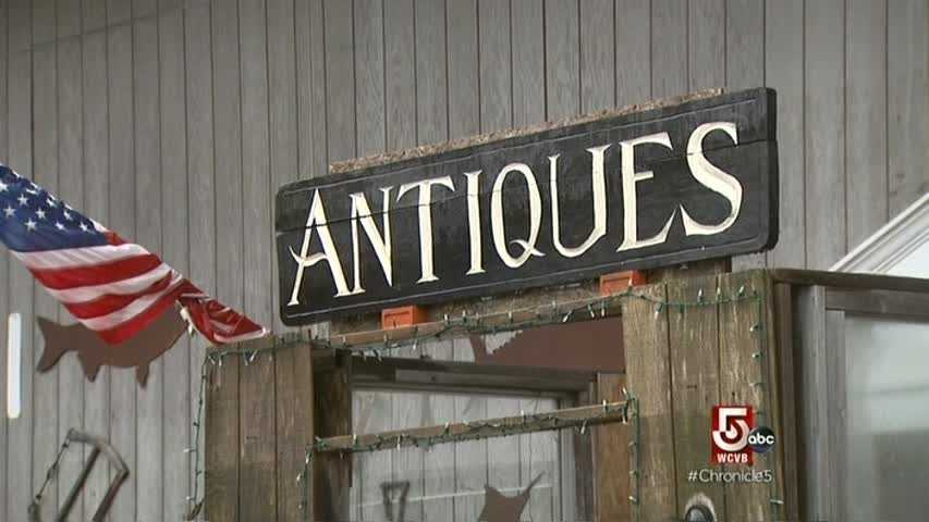 The Antiques Center of Cape Cod has four buildings and 26,000 square feet.