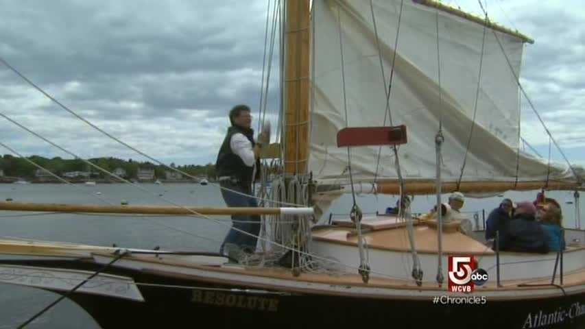 Sailing is big business for the town.