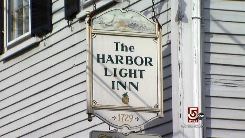 Check into the Harbor Light Inn.