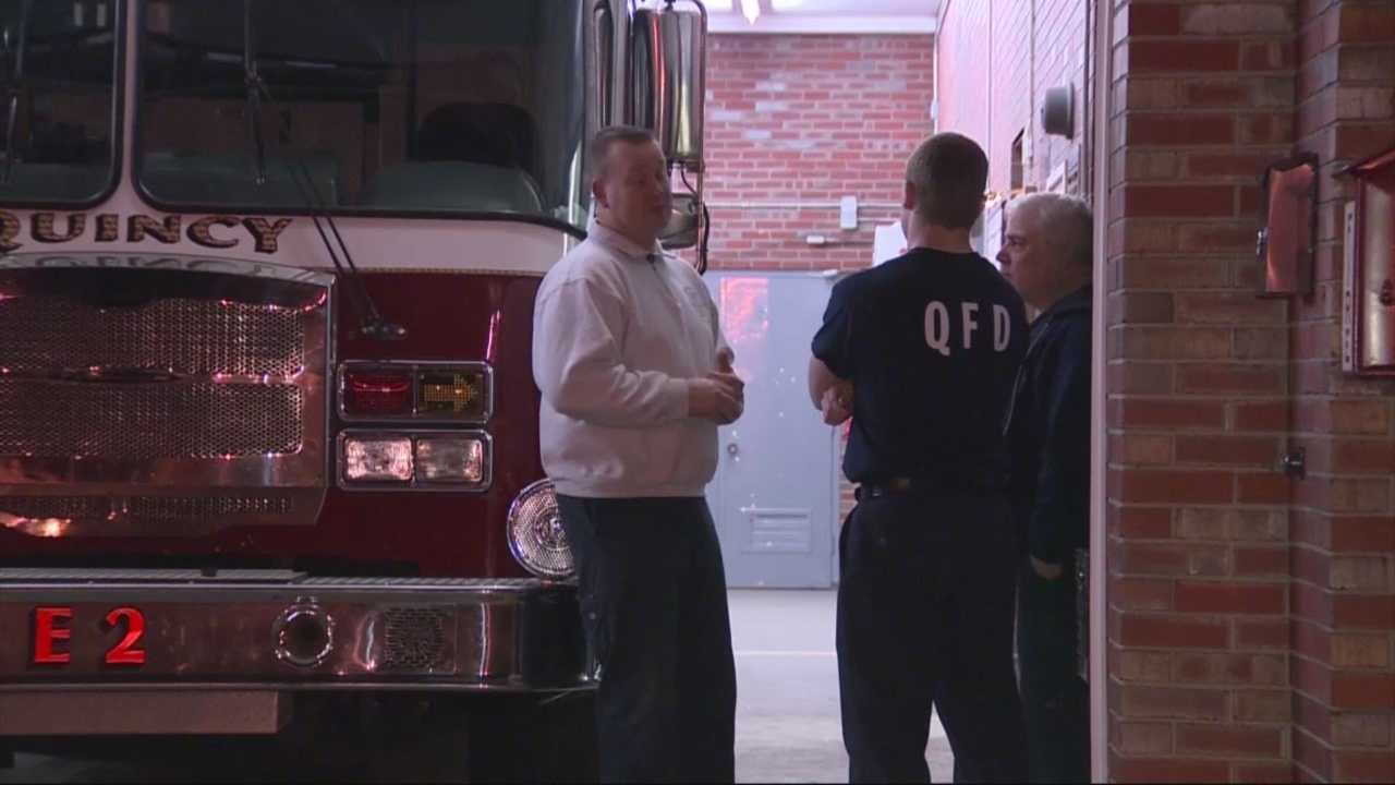 Quincy firefighters revive baby who was born not breathing