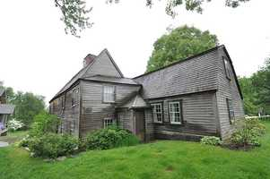 The Fairbanks House in Dedham was built between 1637 and 1641, likely making it the oldest surviving timber-frame house in North America.