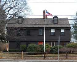 Parts of the John Humphreys House in Swampscott date back to circa 1637. It is Swampscott's oldest building,