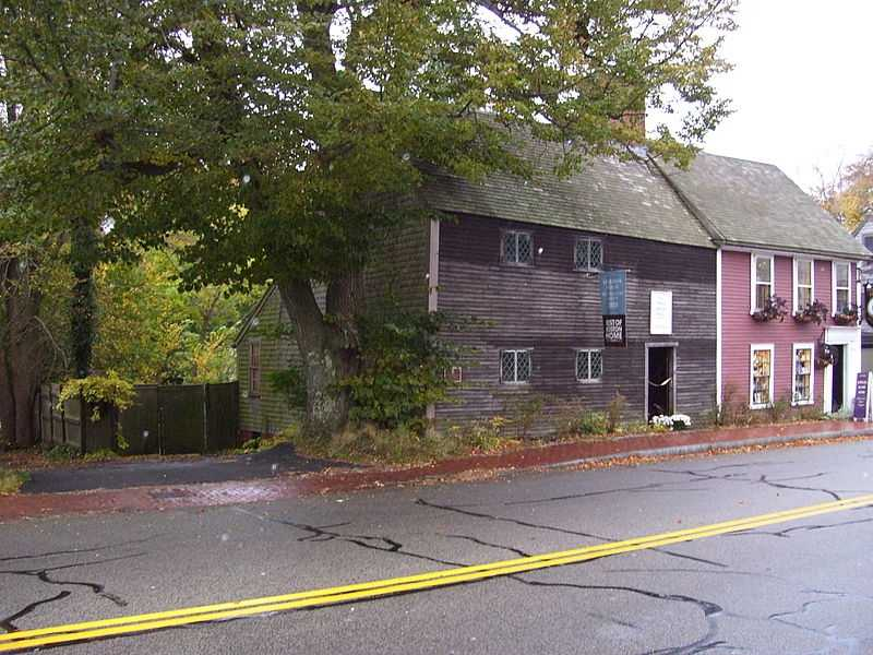 The Richard Sparrow House is the oldest surviving house in Plymouth. It was built around 1640.