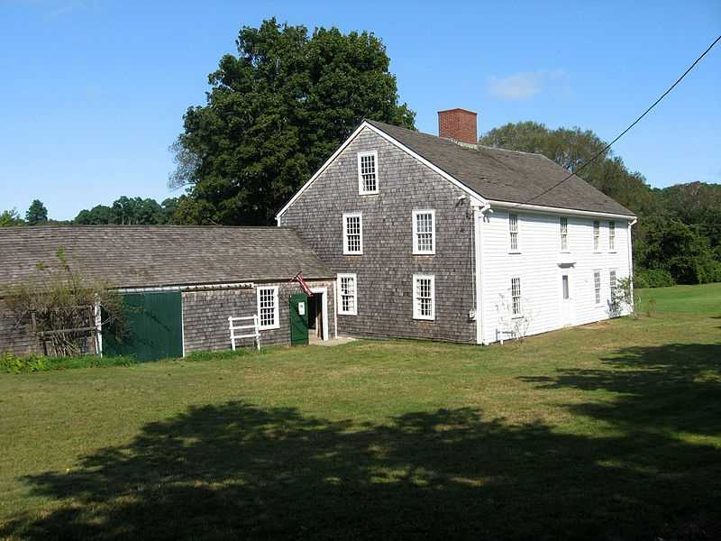 The Wing Fort House in East Sandwich was built in 1641 and added to the National Register of Historic Places in 1976.