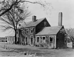 The Walter Hatch Homestead, built circa 1647 in Marshfield, is said to be the oldest continuously lived-in house in the United States.