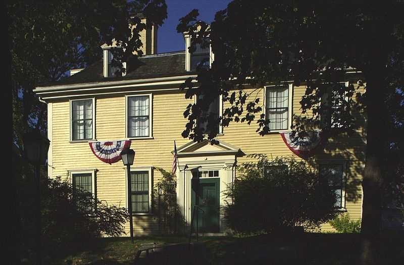 The Bellingham-Cary House is at 34 Parker Street in Chelsea. The house was built in 1659 and added to the National Register of Historic Places in 1974.