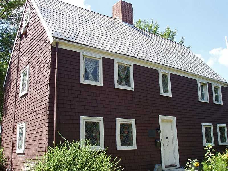 The James Blake House, built around 1661, is the oldest house in Boston. It is located at 735 Columbia Road.