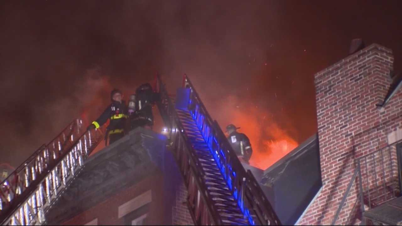A two-alarm fire on Beacon Hill Saturday night left five residents homeless, the Boston Fire Department said on its Twitter account.