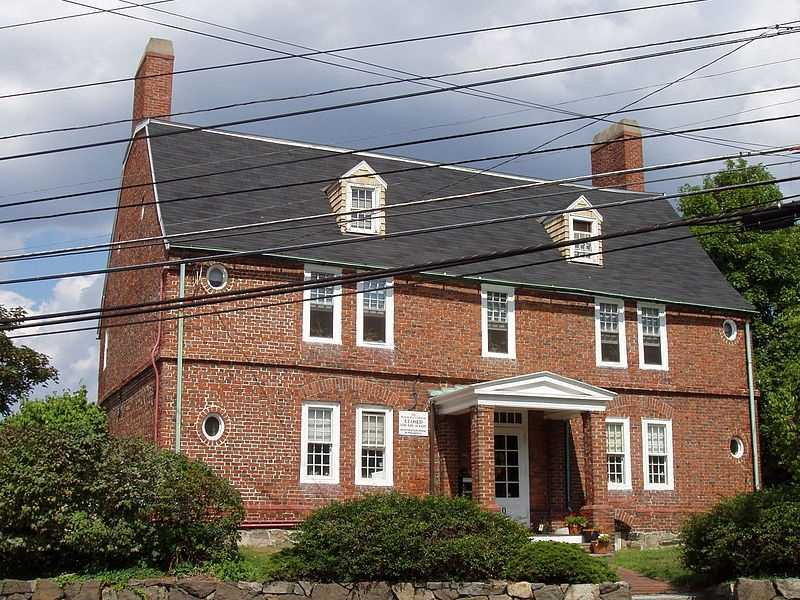 The Peter Tufts House is located in Medford and was built around 1677. It is possibly the oldest all-brick house in the United States.
