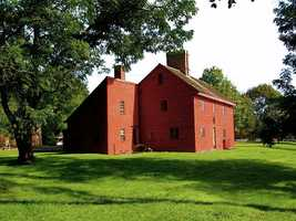 The Rebecca Nurse Homestead in Danvers was built circa 1678. Rebecca Nurse, executed in the Salem Witch Trials in 1692 was the most notable resident.